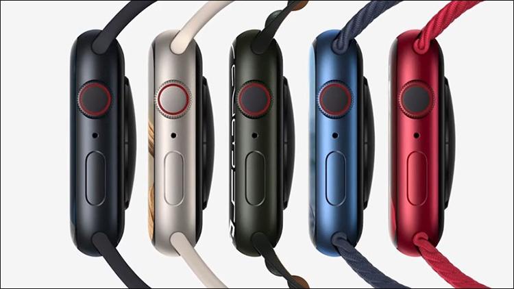 Apple Watch Series 7 gần như không có thay đổi về thiết kế