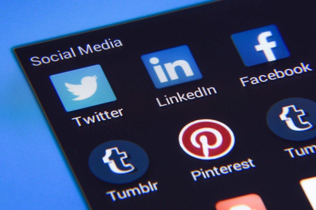 outils du content marketing sociaux image