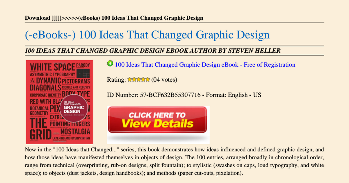 100 ideas that changed graphic design free download