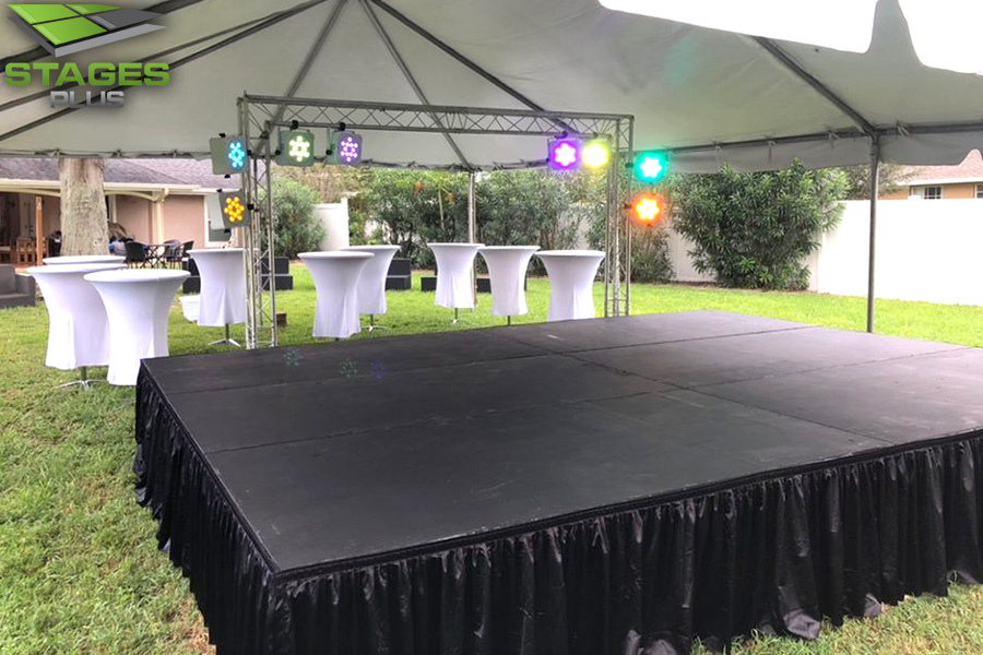 Guest Speakers Orlando Stage Rental Rent Portable