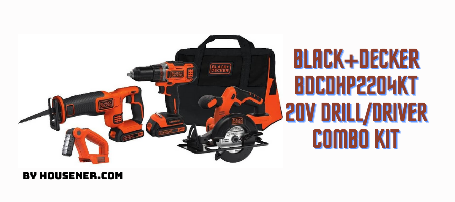 BLACK+DECKER BDCDHP2204KT powerful automotive drill