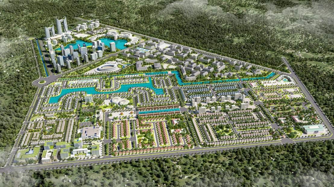 Nhận giữ chỗ vị trí đep Khu Đô Thị E.City Tân Đức, Huyện Đức Hòa-Long An