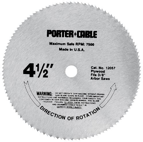 Porter-Cable 4.5-Inch