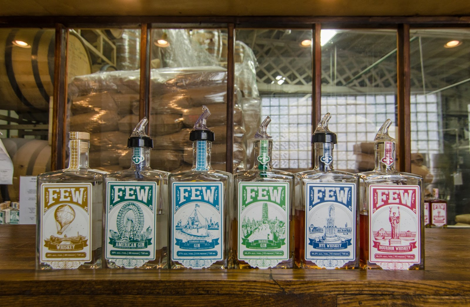 10 Top Whiskey Distilleries in and around Chicago and FEW Spirits