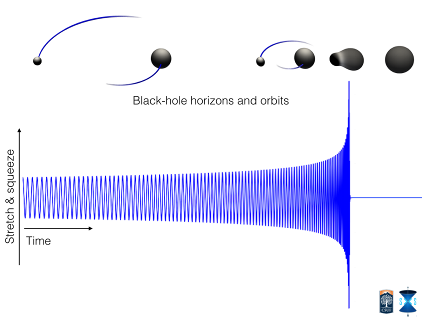 Black hole merger model