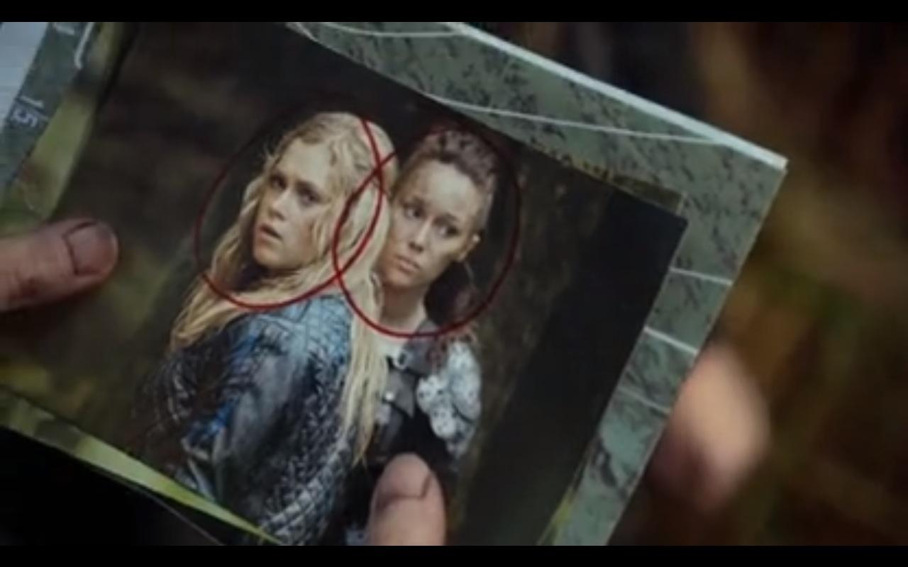 targeted Clarke and Lexa.