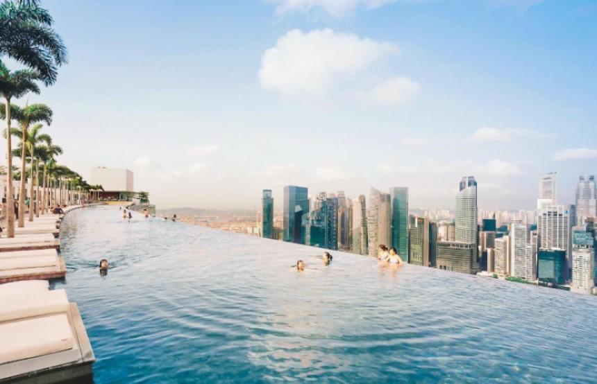 Bể bơi vô cực tối ưu hóa giá trị trải nghiệm cho người sử dụng