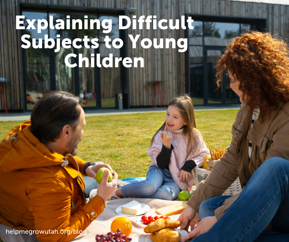 How to Explain Difficult Subjects to Young Children