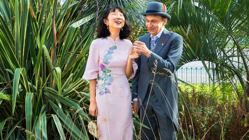 Michel Houellebecq: Ausweitung der Liebeszone: Im September vergangenen Jahres heiratete Michel Houellebecq die Chinesin Qianyum Lysis Li.
