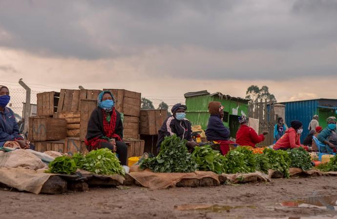 Африканський ринок під час падемії