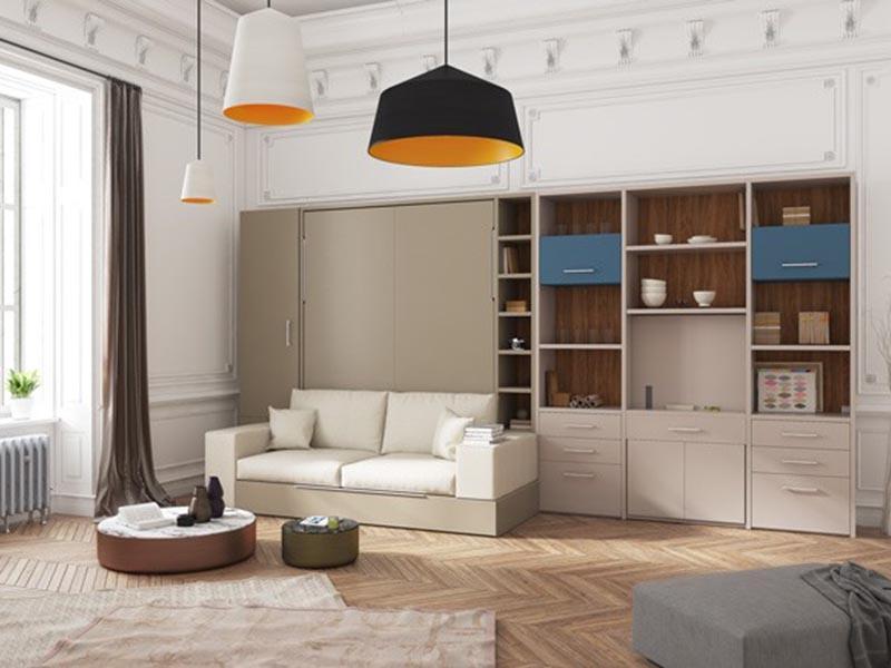 Giường gấp đa năng kết hợp sofa
