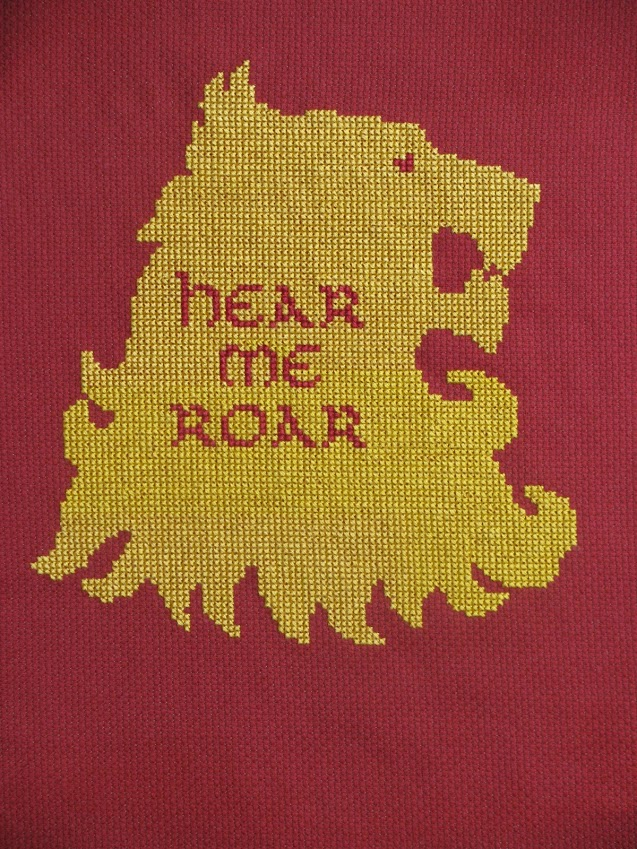 lannister cross stitch