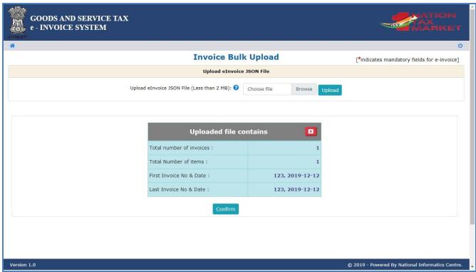 bulk e-invoice