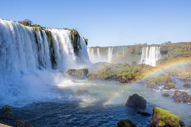 Cataratas do Iguaçu - Vista panorâmica.