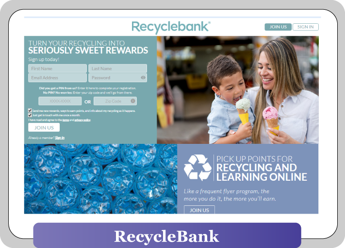 recylebank most of earning money sites and rewards gift card