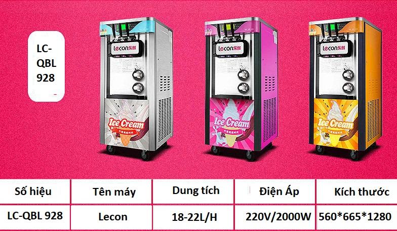 Máy làm kem Lecon tự động - ảnh 8