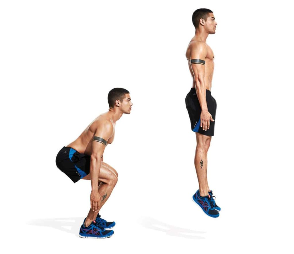 jump squats for Burn Calories And Fat