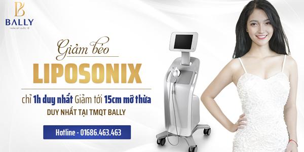 giảm béo bụng nhanh nhất - liposonix