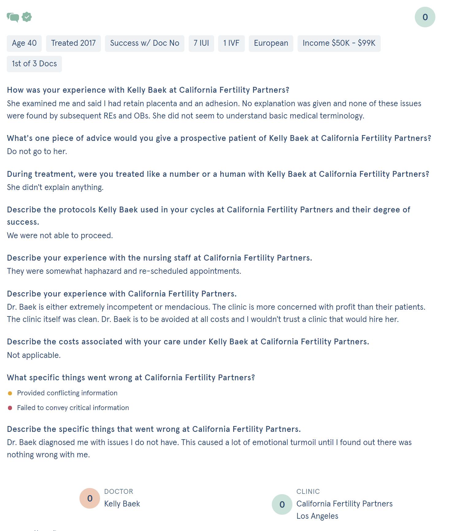 California Fertility Partners review