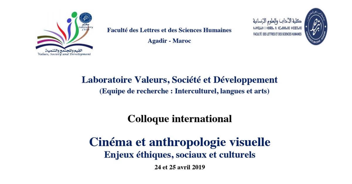 Event:FR:Conf:Collogue Laboratoire LVSD Cinéma et anthropologie visuelle:2019.pdf