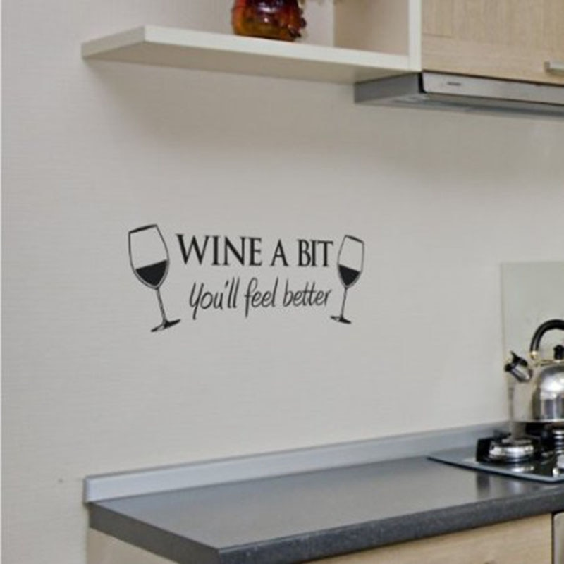 Kitchen Sticker Removable Wall Decal