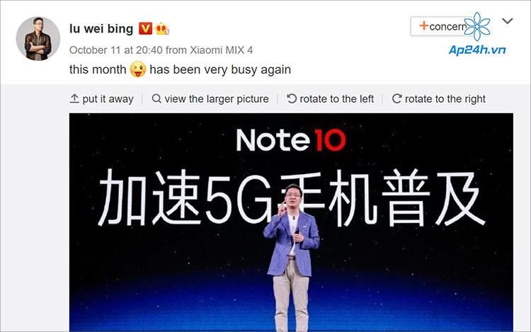 Giám đốc Xiaomi hé lộ việc sắp ra mắt sản phẩm