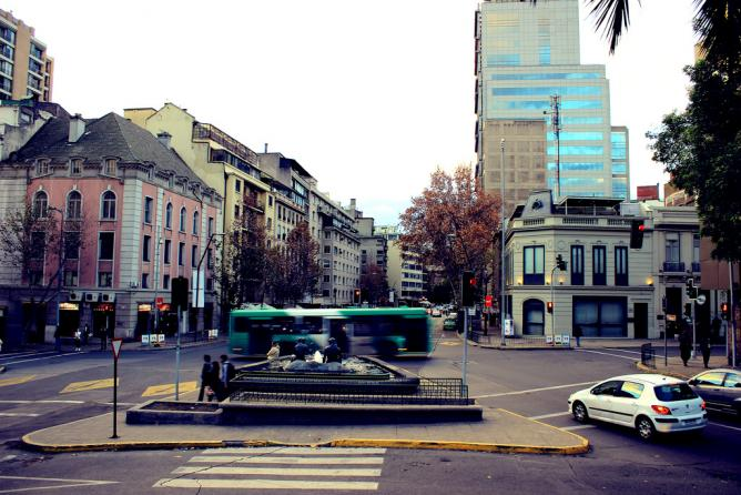 Barrio Lastarria in Santiago de Chile | © Alexander Fns/Flickr
