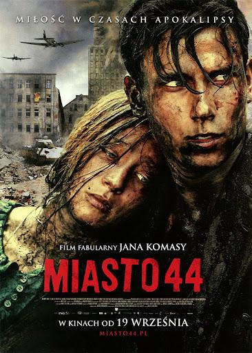 Przód ulotki filmu 'Miasto 44'