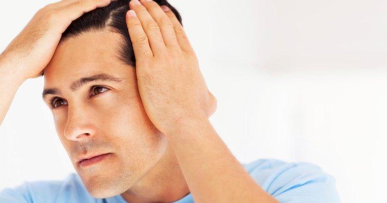 Erkekte saç dökülmesi