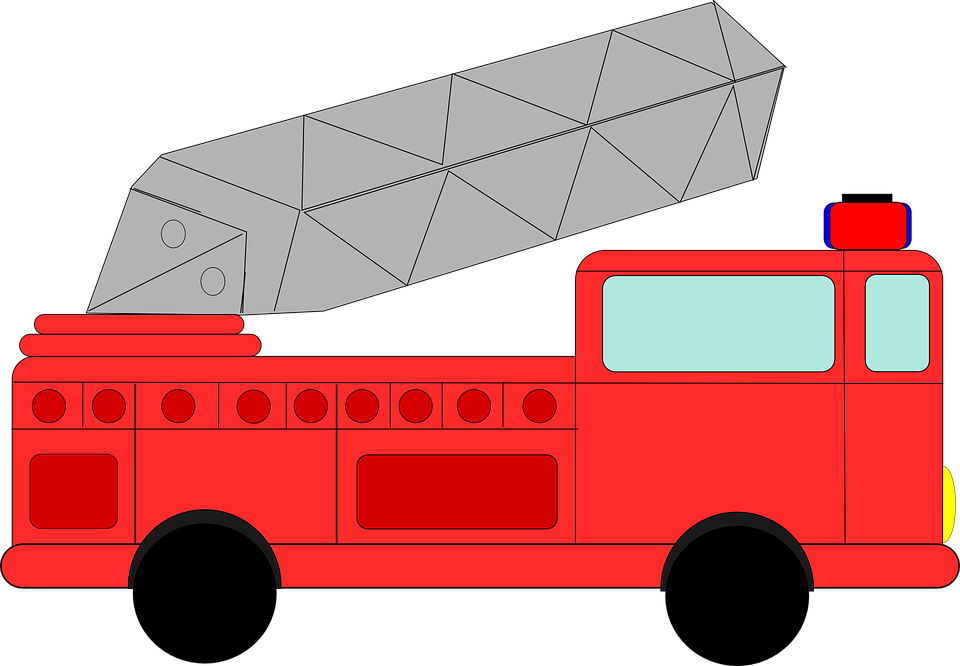 Free vector graphic: Firetruck, Fire, Truck, Engine - Free Image ...