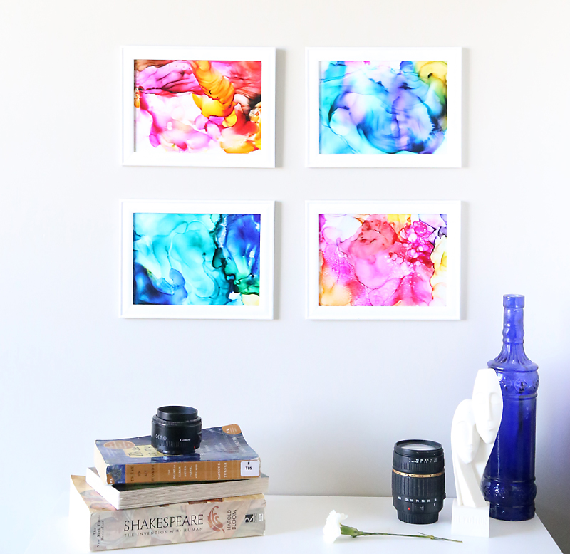 Fired Ink Art - I'm always on the hunt for new craft ideas. Check out some of these amazing craft ideas and craft projects that are on my crafting radar right now!