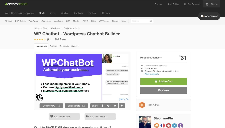 Chatbot WP