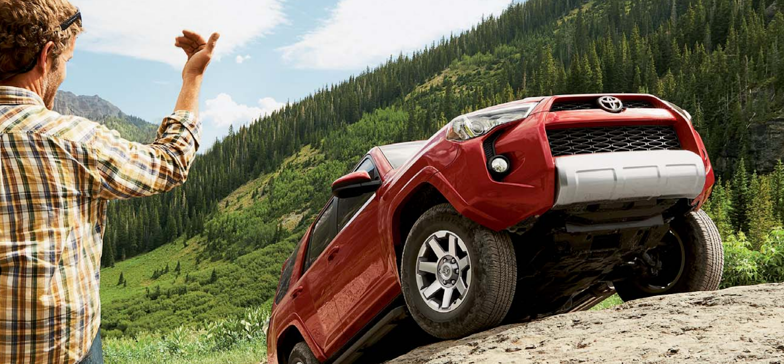 Toyota in Burnaby - 2016 4Runner Red - Greater Vancouver Toyota Dealer