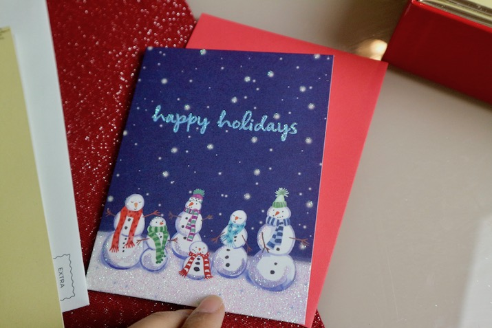 When do you send out your Christmas and Holiday cards? — Be