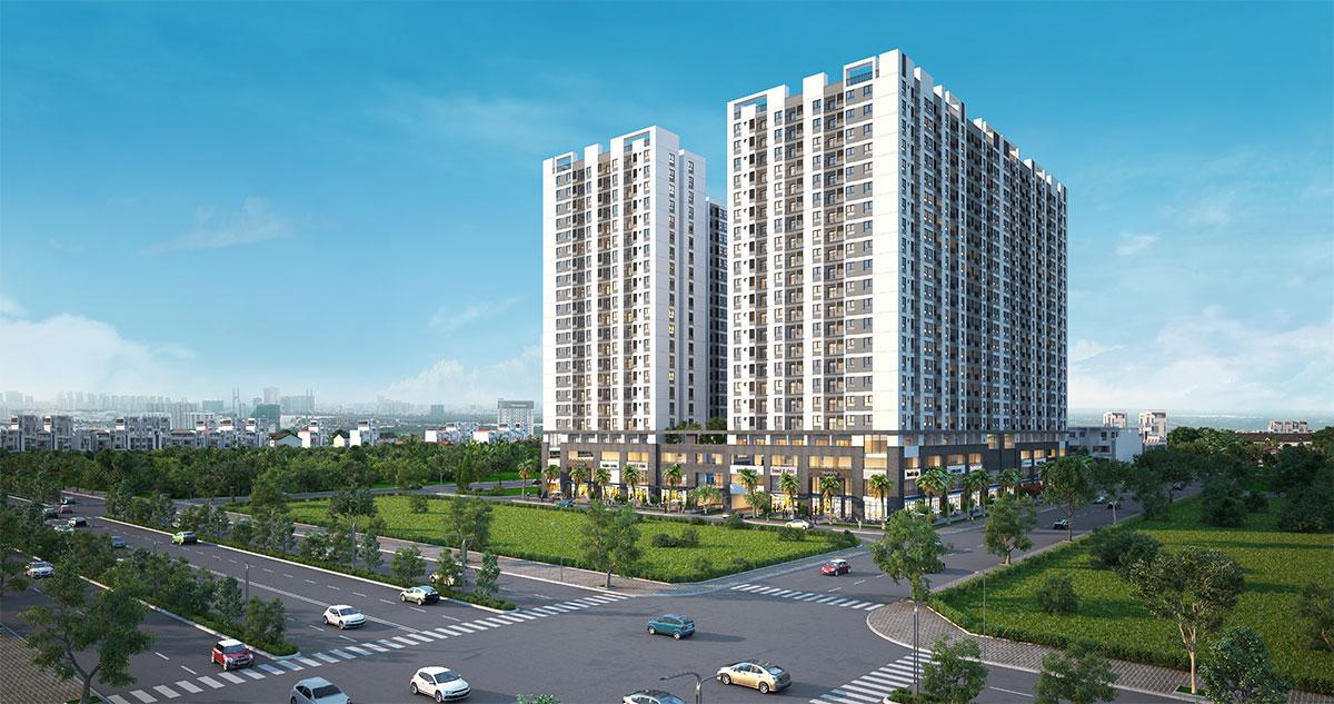 phối cảnh mô hinh dự án quận 7 của Hưng Thịnh