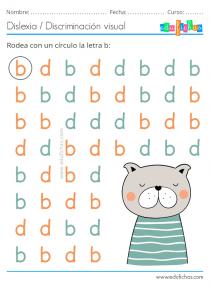 dislexia b y d