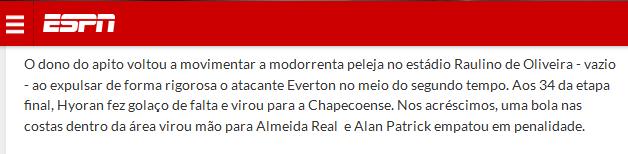 Árbitro ajuda o Flamengo