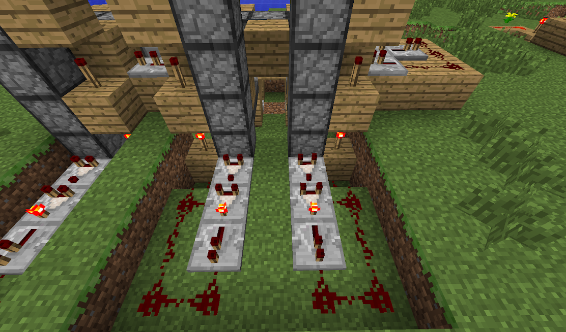 how to make a redstone comparator repeat