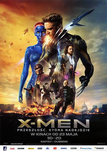 Przód ulotki filmu 'X-Men: Przeszłość, Która Nadejdzie'
