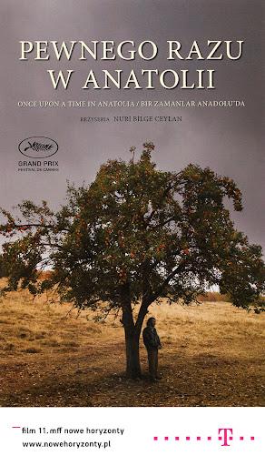 Przód ulotki filmu 'Pewnego Razu W Anatolii'