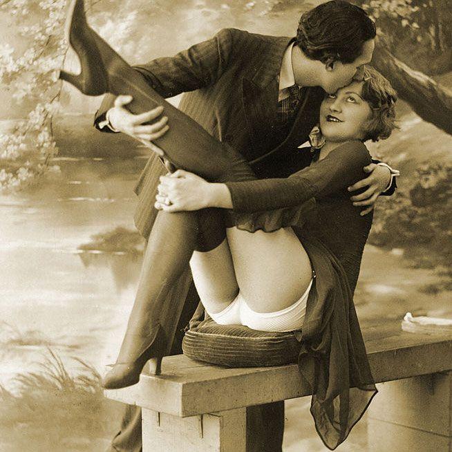 1920. gads pikanta fotosesija