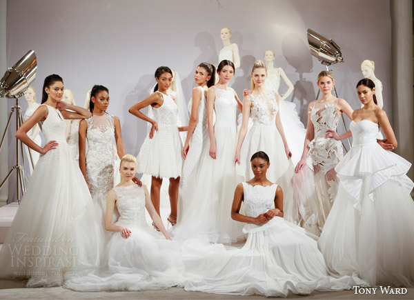 Naked brides take the plunge in racy gowns at Bridal 24