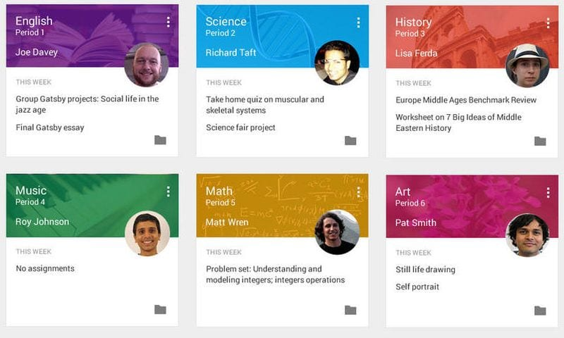 Online Learning Resources Google Classroom