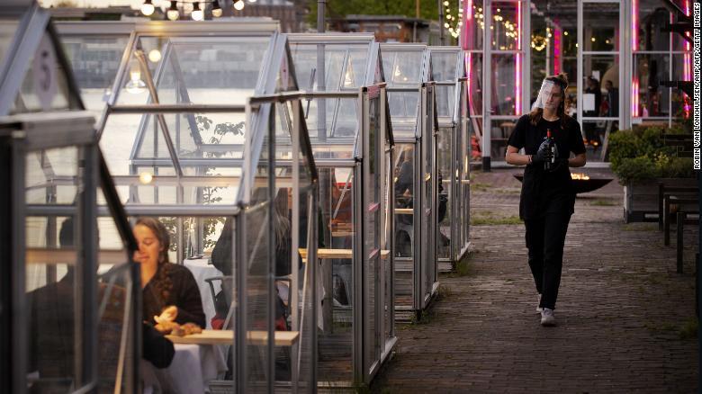 amsterdam restaurant response to covid-19