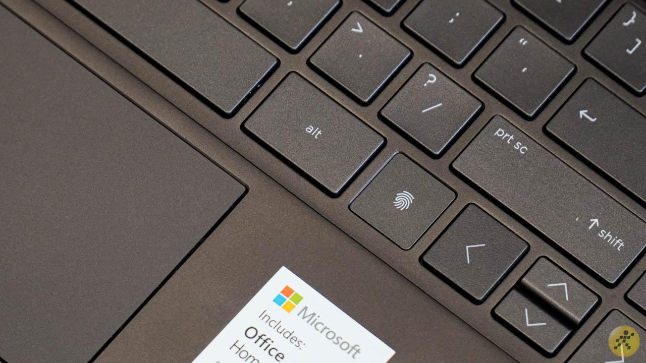 Cảm biến vân tay trên HP X360 13