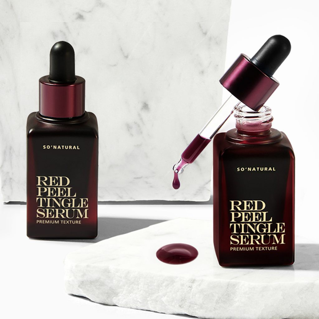 Red Peel Tingle Serum Premium