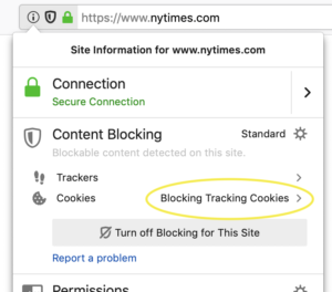 Firefox on Fire, Blocks Third party Cookies by Default 2