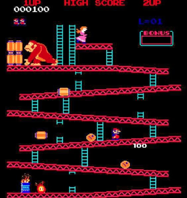 Donkey Kong, circa 1980's. Beaze, a B2B technology vendor procurement marketplace.