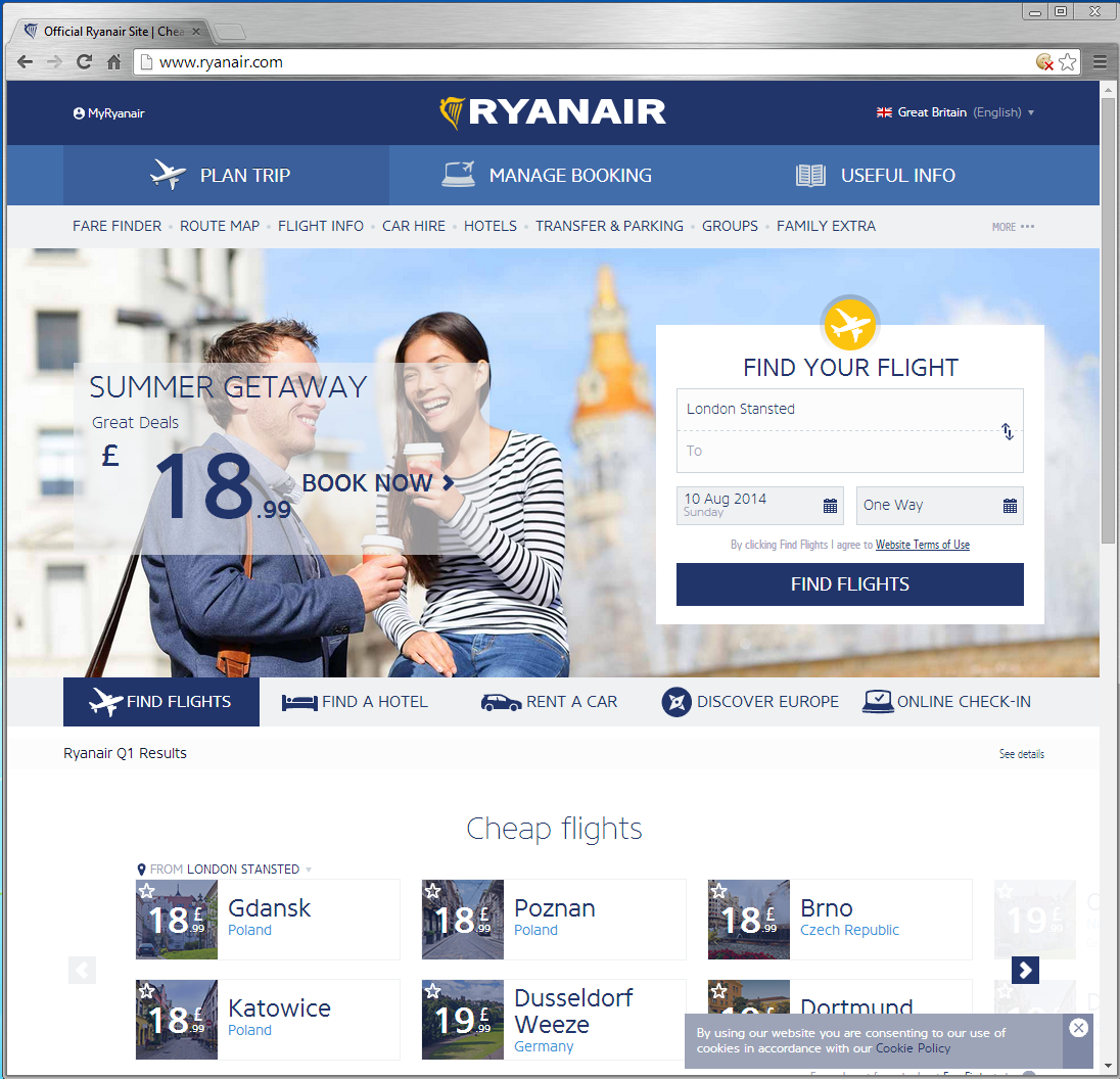 the new ryanair site as per JUL 2014