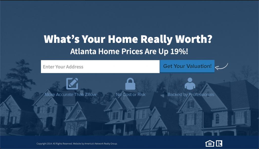 cuánto vale su casa en Marietta